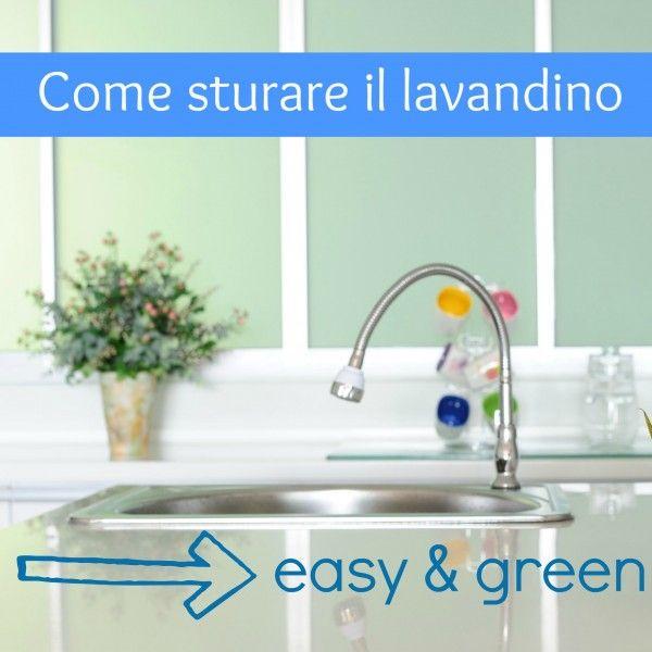 Come sturare il lavandino (facile e green). Sale e bicarbonato nello scarico e dopo una pentola di acqua bollente