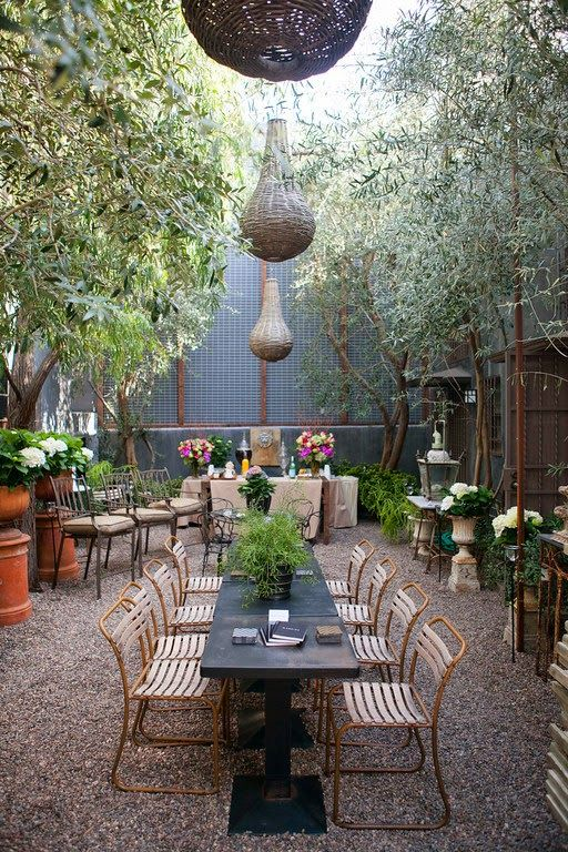 Legends of La Cienega 2014 Great Outdoor space