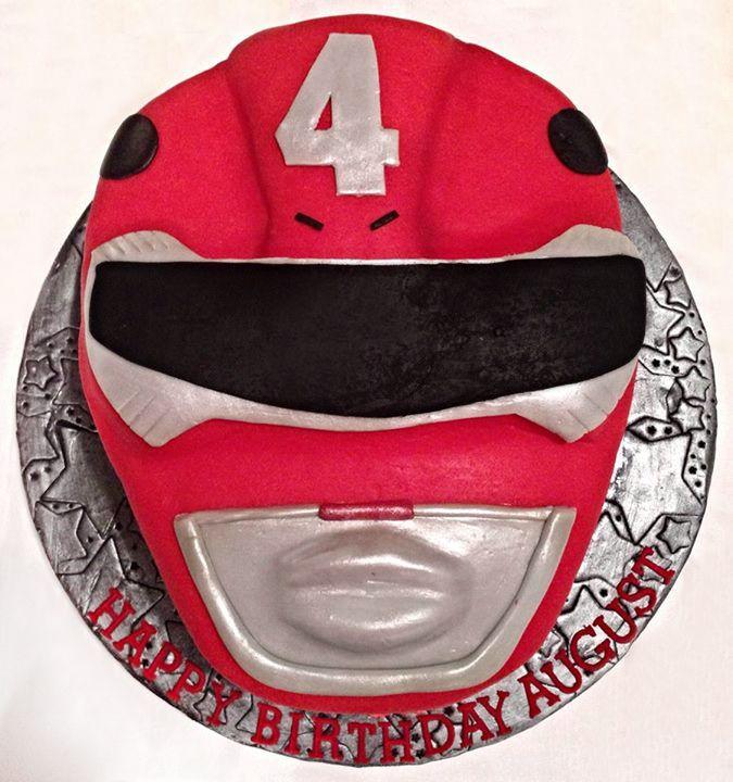 Red Power Ranger - Red Power Ranger Cake