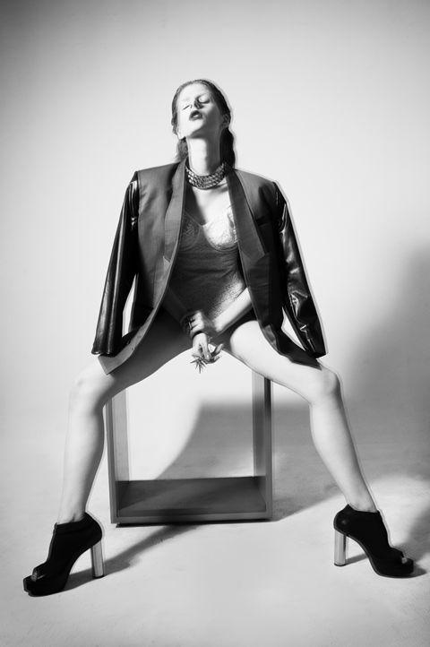 LE SMOKING!  Photography : Georgia Irina  Styling : Trisha Dharmono  Model : Natalia Secemska - Damn.Inc