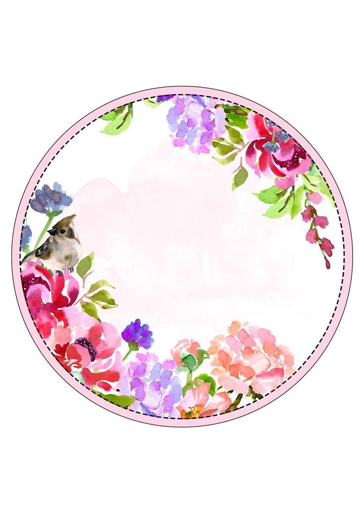 картинка цветочная круглая относится