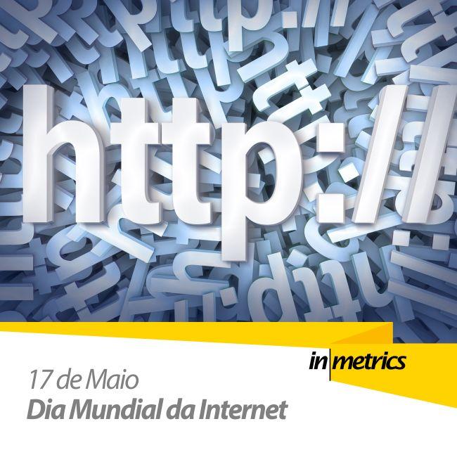 Em 1865 foi fundada a União Internacional de Telecomunicações (UIT) e anualmente se comemorava o Dia Mundial das Telecomunicações. Porém em 2005 a ONU estabeleceu a data como o Dia Mundial da Sociedade da Informação ou Dia Mundial da Internet data esta que busca promover a inclusão digital. http://goo.gl/vull72   #Inmetrics #internet #diamundialdainternet