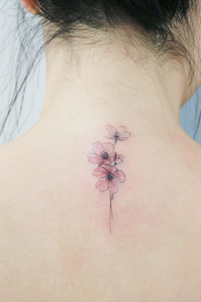 Tender Selection Of Cherry Blossom Tattoo For Your Inspiration Blossom Tattoo Cherry Blossom Tattoo Tattoos