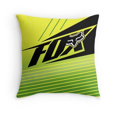 fox enterprize throw pillow