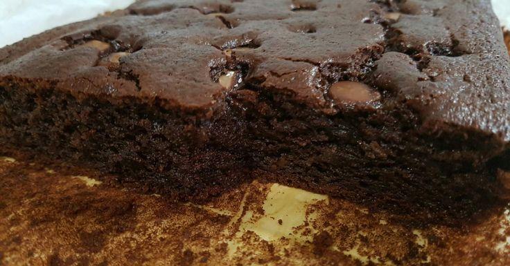 chocolate and sweet potato brownies