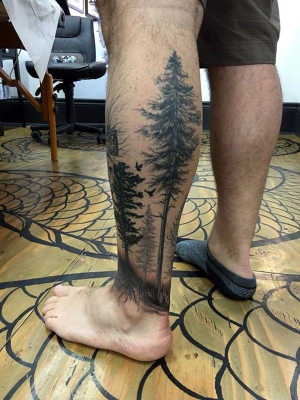 40 Tief und Super Cool Forest Tattoo Ideen #forest #ideen #super #tattoo