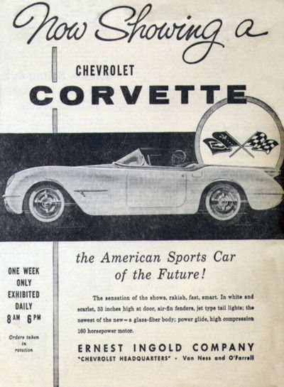 #Vintage Corvette Car Ad  #Travel Rides- We cover the world over 220 countries, 26 languages and 120 currencies Hotel and Flight deals.guarantee the best price