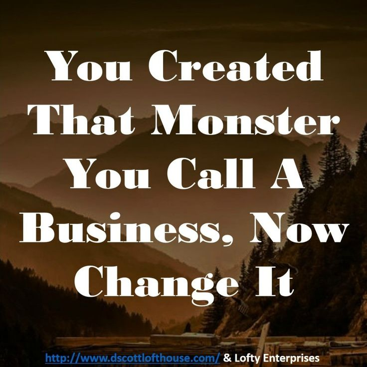 What has your business become?  Do you like your business — or not like it?  You created the monster. And you can change it, too.#followme # #repost #makemoneyonline #successwithme #lifestyle #riseandgrind #bossup #hustlehard #hustle #goals #goaldriven #goaldrivenlife #goforyourdreams #goforit #entrepreneurialmindset #entrepreneurial #entrepreneurlifestyle #entrepreneurship #entrepreneursofinstagram #laptoplifestyle #dotcomlifestyle #onlinemarketing #marketingonline # #marketing…