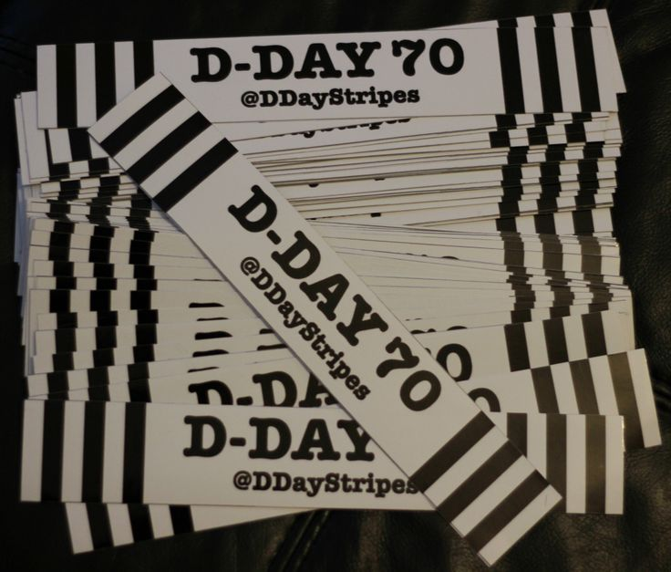 d-day aircraft stripes