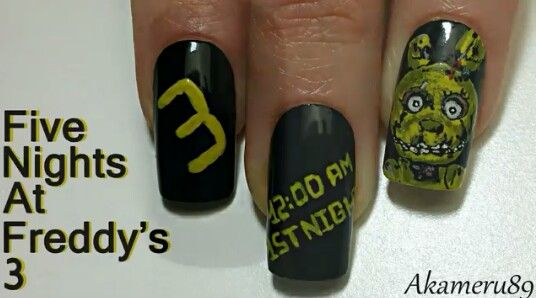 Five Nights At Freddy's 3 (SpringTrap inspired) *By: Akameru89*