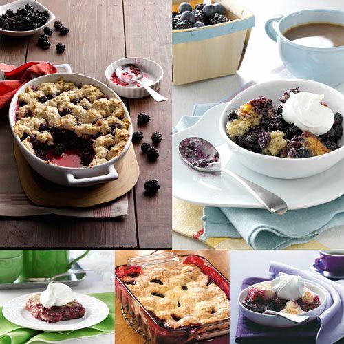 Blackberry Cobbler Recipes from Taste of Home
