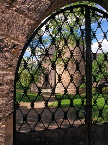 Iron Gate to Cesis Castle - Latvia