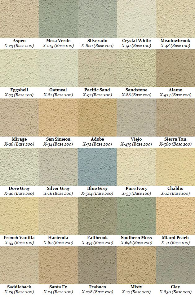 Stucco color samples - ideas for our house- I think we are going with light tan colored windows.