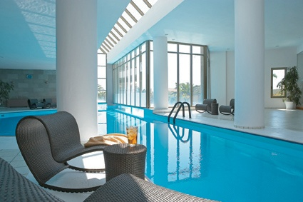 Rhodos Royal, Elixir Spa indoor pool