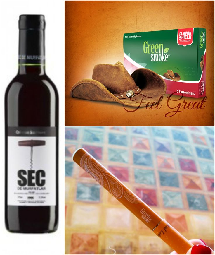 Red Label Tobacco și Cabernet Sauvignon Murfatlar  http://www.greensmoke.ro/