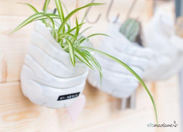 http://elbmadame.de/volvic-blogparade-upcycling/ PET-Bottle DIY