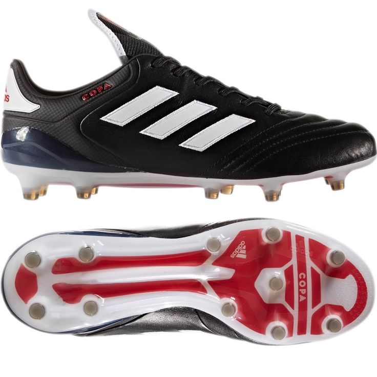 Adidas Copa 17.1 FG Soccer Cleat (Black/White/Red)
