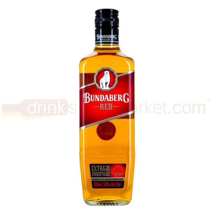 Bundaberg Red Smooth Rum 70cl - DrinkSupermarket