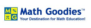 Math Goodies is your free math help portal featuring interactive lessons, worksheets, and homework help.