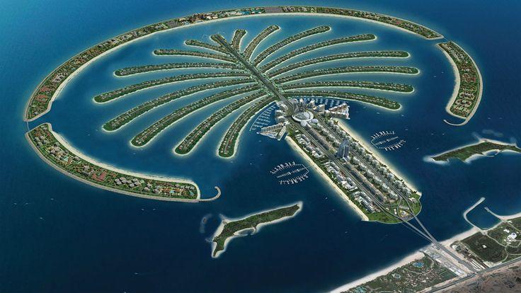 palm islands dubai - Google Search