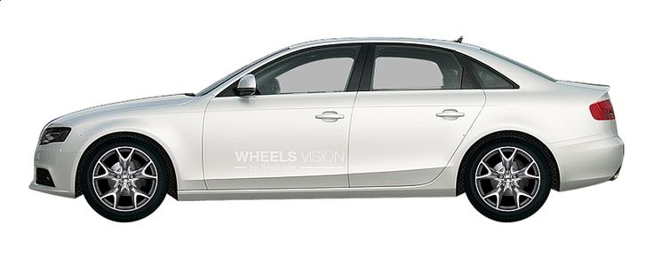 "Я примерил диски: ""Aez Phoenix"" на своем авто: Audi A4 IV (B8) Рестайлинг Седан #конфигуратор #wheelsvision #Aez_Phoenix #Audi #A4"