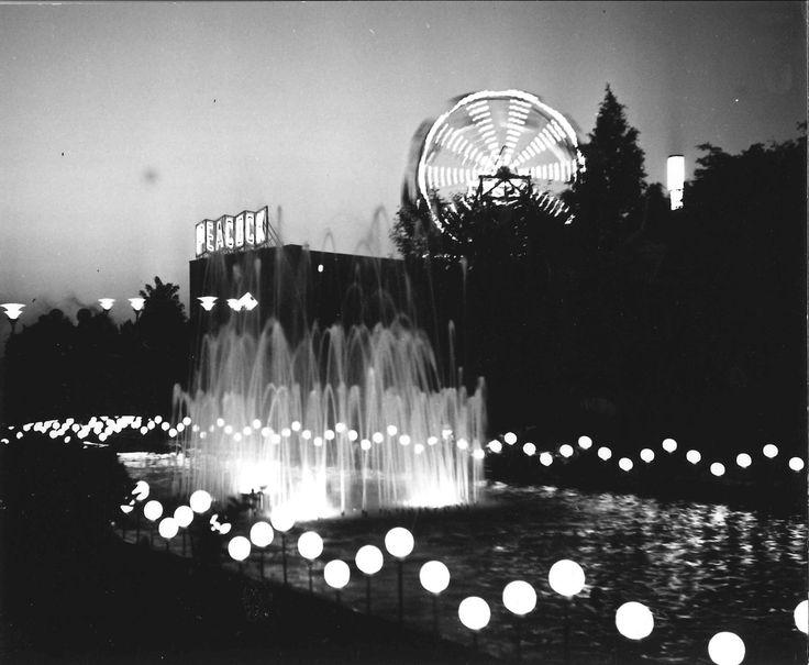 Suihkukaivo 1963 #finland #helsinki #linnanmaki #summer #kesa #visitfinland #huvipuisto #amusementpark #nojespark #puisto #park #nostalgia #oldschool #photograph