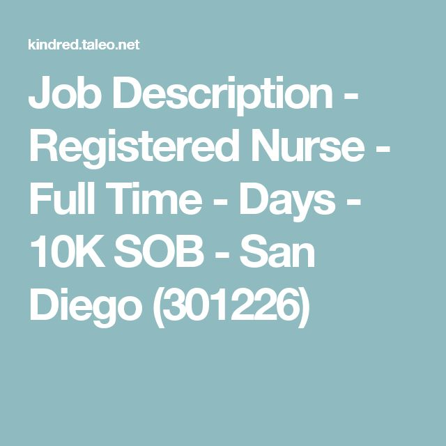 Best 25+ Registered nurse job description ideas on Pinterest | Rn ...
