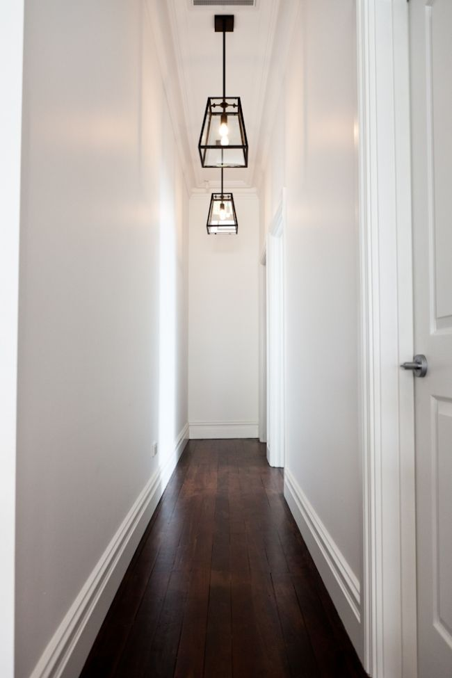 That's our hallway! How to make a dark hallway or staircase feel brighter with paint colour by Home Nerd