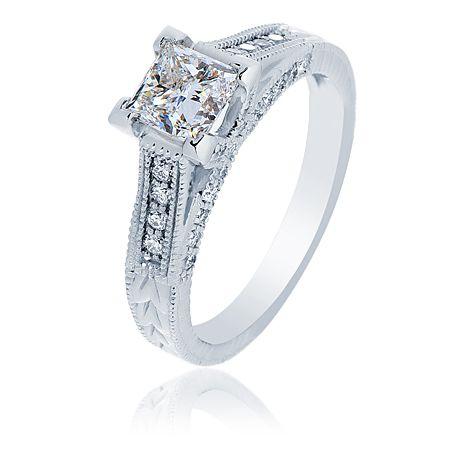 Maple Leaf Diamonds Engagement