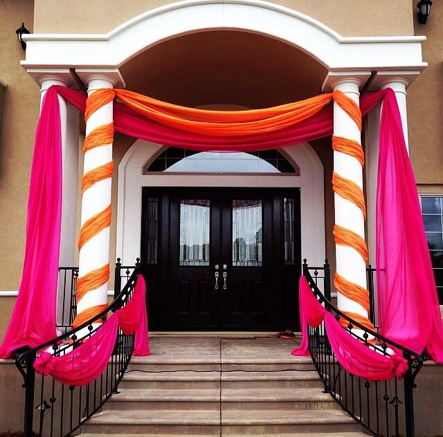 Home Wedding Reception Decorations : Images about indian wedding decor home for