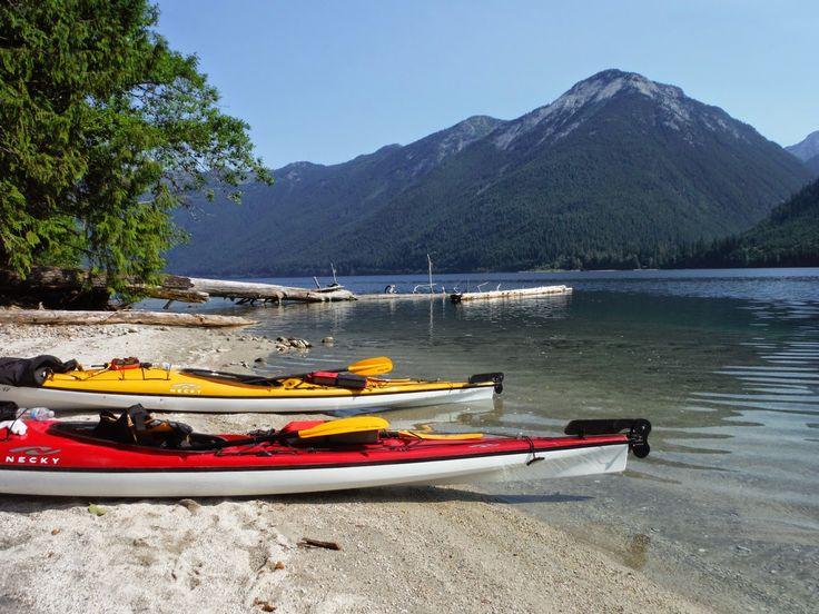Boat launch at Chilliwack Lake Provincial Park.  #kayak #explorebc