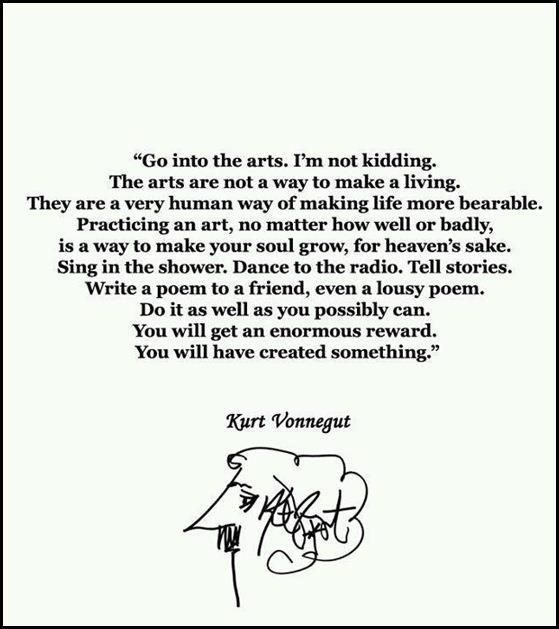 good:    Happy Friday, ya'll!  azspot:      Kurt Vonnegut Fans