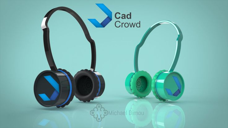 Cadcrowd Headset bluetooth