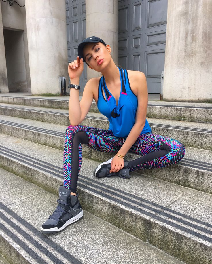 Nike gear: don't forget to stretch