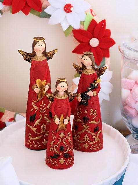 Karácsonyi vidám angyalok