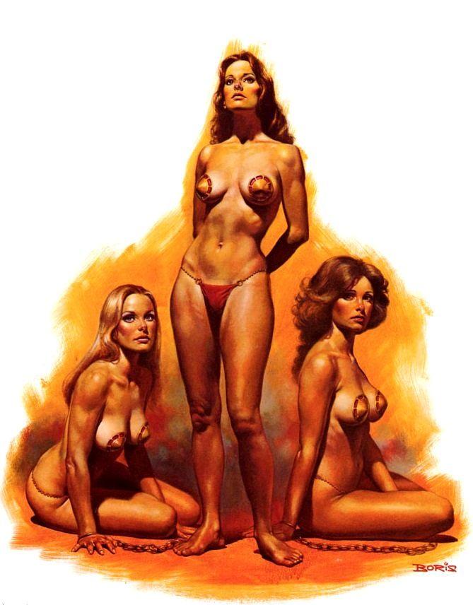 Slaves of The Empire / 5 / Corissa the Vestal Virgin / 1978 (Boris Vallejo)