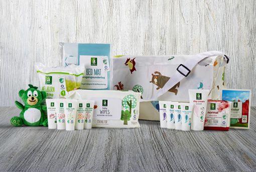Babypakke fra SuperBrugsen - forkælelse til mor og baby
