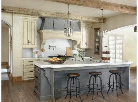 Beautiful Modern French Kitchen Style Love The Grey Koty