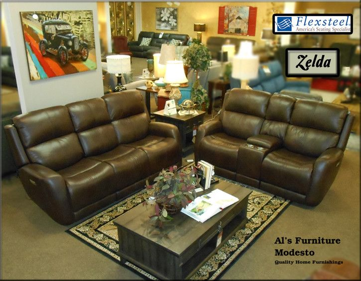 Marvelous The Flexsteel Zelda Power Reclining Collection Reminds You Caraccident5 Cool Chair Designs And Ideas Caraccident5Info