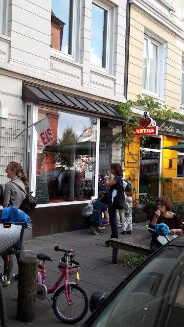 Eisliebe in Hamburg.