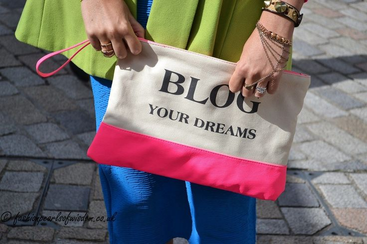 Slogans aren't just for t-shirts #LFW #MaxMyStyle