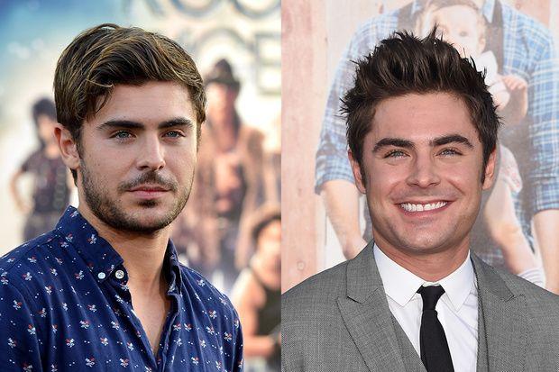 Con o senza barba la doppia versione dei divi di hollywood zac efron prima e dopo - Altezza divi di hollywood ...