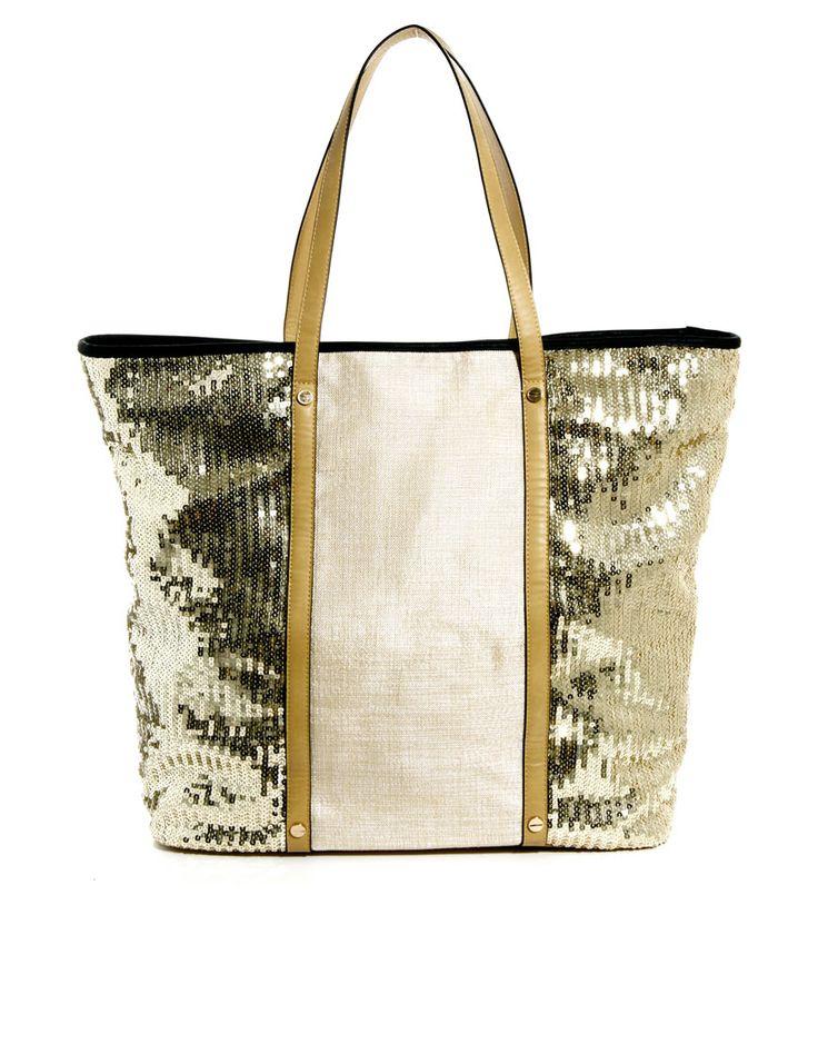 VIDA Tote Bag - Sparkle & Shine Tote by VIDA aU2Lq