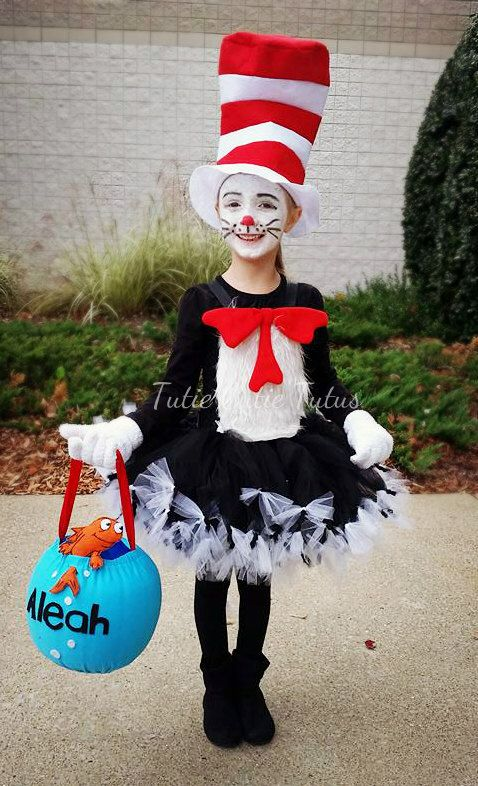Cat in the Hat Tutu Dress by TutieCutieTutus on Etsy https://www.etsy.com/listing/226498428/cat-in-the-hat-tutu-dress