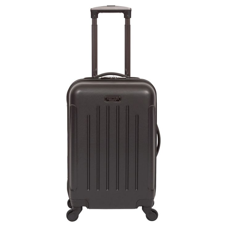 Heritage Lincoln Park Lightweight Abs 4 Wheel Carry-On Suitcase - Black (20)