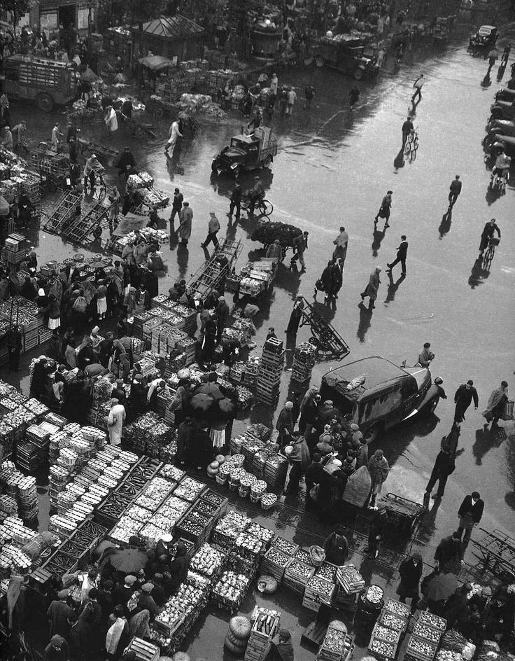 Robert Doisneau, Paris, les Halles, les années 50.