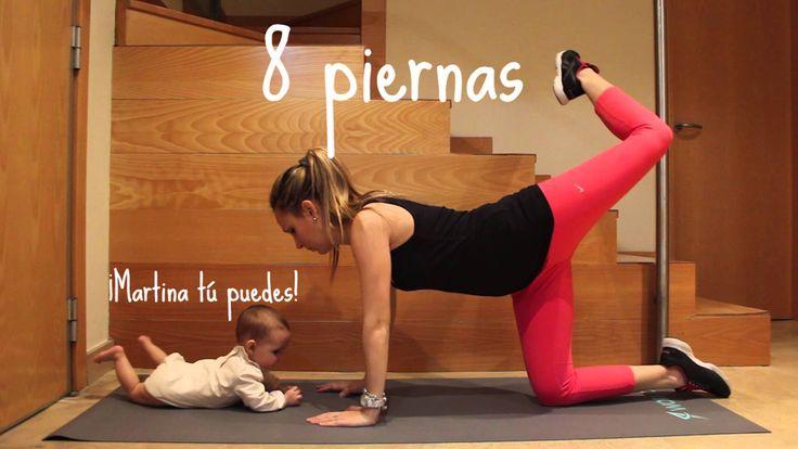 ejercicios mamá y bebé