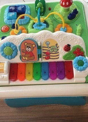 Kaufe meinen Artikel bei #Mamikreisel http://www.mamikreisel.de/spielzeug/lernspielzeug/32114680-chicco-spieltisch-mit-musik