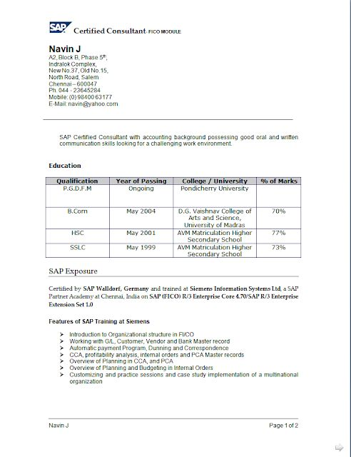 curriculum vitae example for students free download sample template excellent resume cv format with career objective bcom with 3 years work experience in