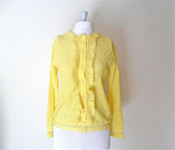 The 25  best Yellow cardigan sweater ideas on Pinterest | Mustard ...